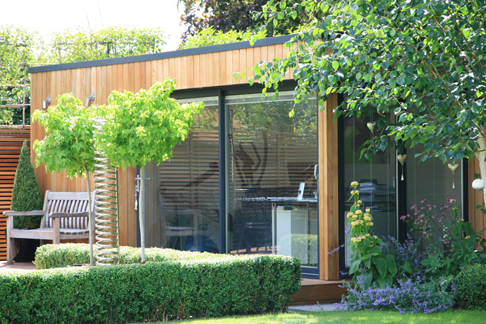 Garden Office and Gym, Beaconsfield
